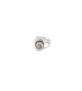 Bague oeil de sainte Lucie ovale et oxyde de zirconium  - Bague oeil de sainte Lucie ovale et oxyde de zirconium