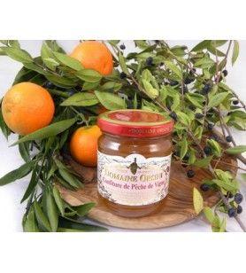 Marmelade von Pfirsich 250 gr Orsini