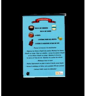 Magnet Rezept Korsika Kastanienkuchen  - Magnet Rezept Korsika Kuchen mit Kastanie