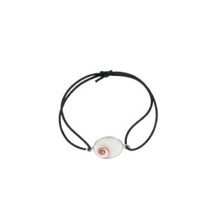 Pulsera elástica ajustable y ojo de santa lucia ovalado  - 1