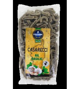 Pâtes CASARECCI Ail et Basilic  - Pâtes CASARECCI Ail et Basilic Sachet de 250 Gr