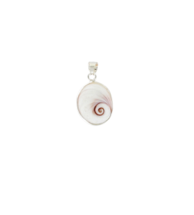 Colgante ojo de santa lucía del mediterráneo modelo ovalado mediano  - Colgante ojo de santa lucía del mediterráneo modelo ovala