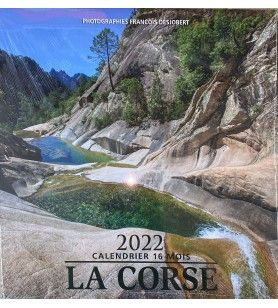 16-Monats-Kalender - Farbenfrohe Landschaften  - 16 Monate Kalender Korsika - Landschaften in Farben. Von September 2021 bis Dez
