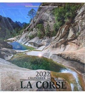 16 month calendar - Landscapes in colour  - Calendar 16 months Corsica - landscapes in colors. From September 2021 to December 2