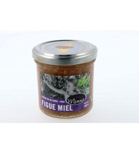 Terrina de higos ecológicos con miel de Córcega Minnà - 140g 5.4