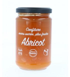 Confiture fruitée d'abricot de Corse allégée en sucre - 325 gr 4.5