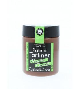 Biscuiterie d'Afa Pâte à tartiner chocolat noisettes et aux éclats de canistrelli 5.9