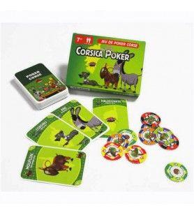 Jeux de cartes Corsica Poker  - Jeux de cartes Corsica Poker
