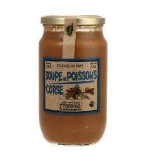 Sopa de pescado corsa Corsica Gastronomia - 760g 8.7