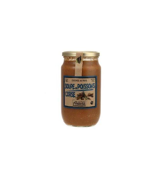 Soupe de Poissons Corse Corsica Gastronomia 760 Gr