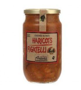 Haricots Figatelli Corsica Gastronomia 800 Gr