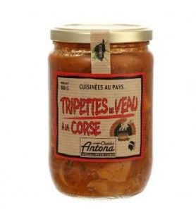Tripettes di Vitello in Corsica Corsica Gastronomia 600 Gr