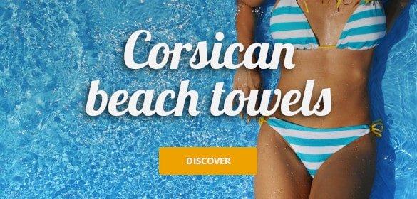 Corsican beach towels