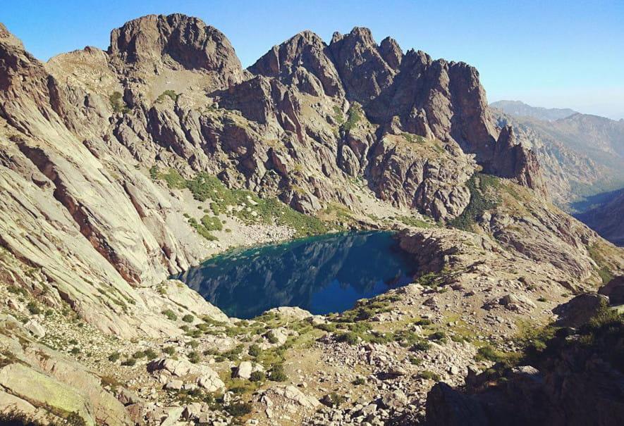 Lago de Capitello (Córcega)
